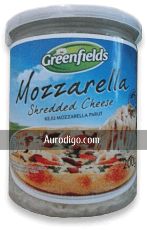 Greenfields Mozzarella Shredded Cheese